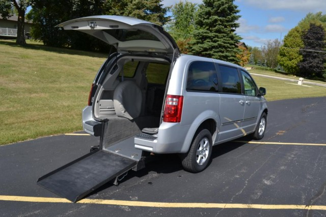 2008 Dodge Grand Caravan Vision Rear Entry Vision Rear Entry Manual Wheelchair Van For Sale