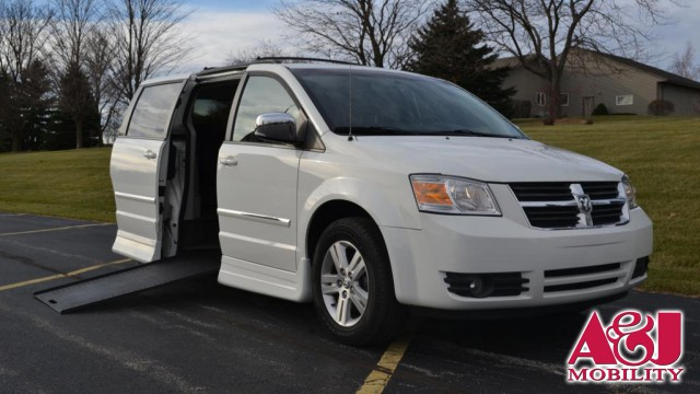 2008 Dodge Grand Caravan Rollx Vans Rollx In Floor Dodge Wheelchair Van For Sale
