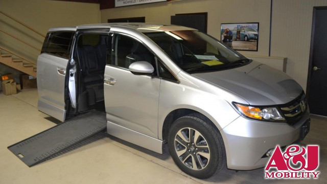 2014 Honda Odyssey Rollx Vans Rollx In Floor Honda Wheelchair Van For Sale