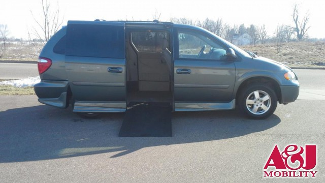 2007 Dodge Grand Caravan Rollx Vans Rollx In Floor Dodge Wheelchair Van For Sale