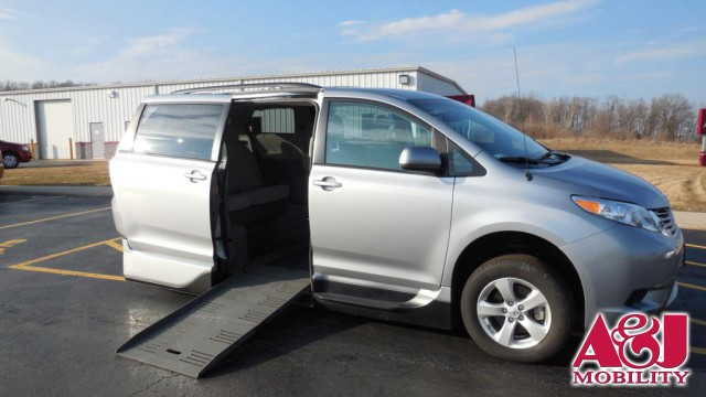 2013 Toyota Sienna VMI Summit Access360 Wheelchair Van For Sale