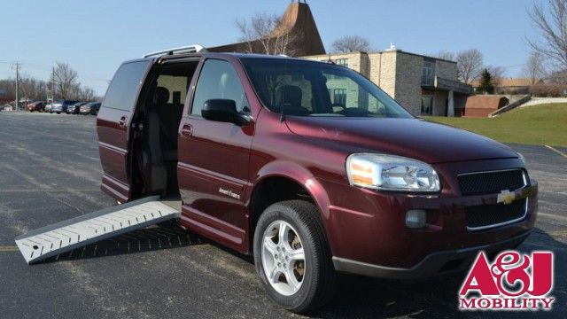 2006 Chevrolet Uplander  Wheelchair Van For Sale