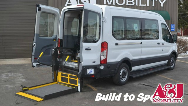 2016 Ford Transit Wagon Non Branded A&J Ford Transit Wheelchair Van For Sale