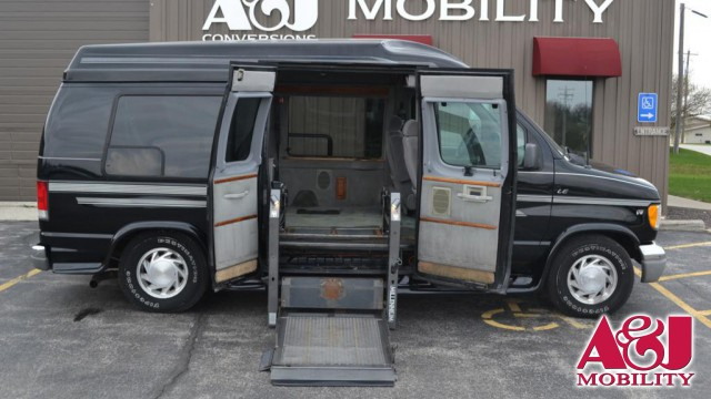 2001 Ford E-150 Non Branded Full Size Van Conversion Wheelchair Van For Sale