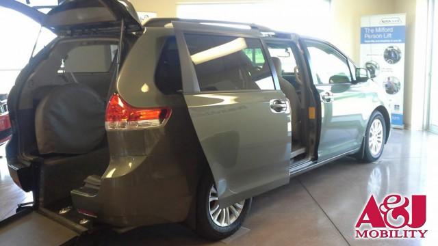 2011 Toyota Sienna Vision Rear Entry Vision Rear Entry Power Wheelchair Van For Sale