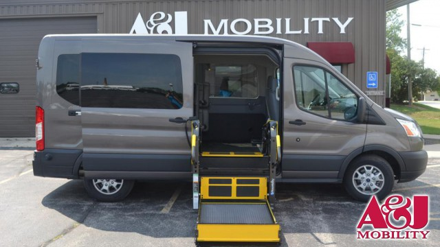 2015 Ford Transit Wagon Non Branded A&J Ford Transit Wheelchair Van For Sale