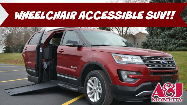 2016 Ford Explorer BraunAbility® MXV® Wheelchair SUV Wheelchair Van For Sale