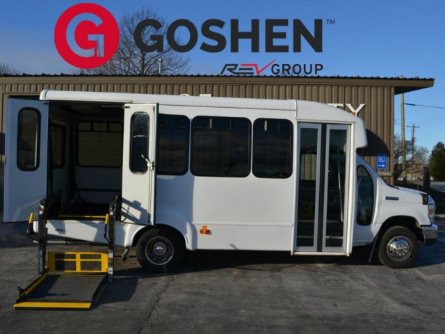 Bus For Sale Wisconsin: 2011 FORD  ECONOLINE 450 - Non Branded ADA Wheelchair Accessible Bus