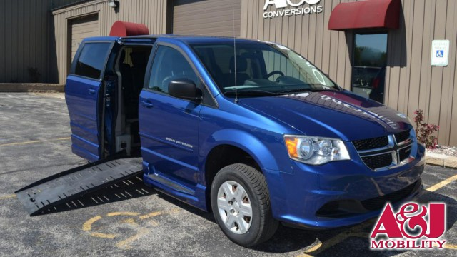 2011 Dodge Grand Caravan Commercial Vans Dodge ADA Entervan Wheelchair Van For Sale