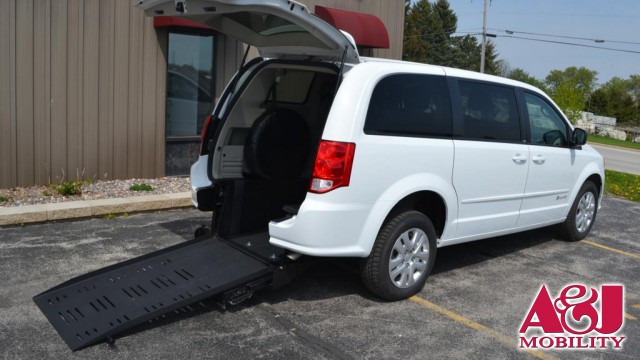 2014 Dodge Grand Caravan Commercial Vans Dodge ADA Rear Entry Wheelchair Van For Sale