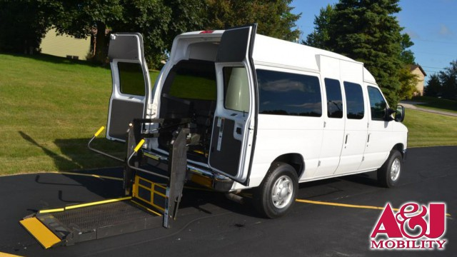 2012 Ford E-Series Van Non Branded Please See Description Wheelchair Van For Sale