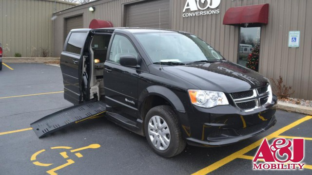 2016 Dodge Grand Caravan Commercial Vans Dodge ADA Entervan Wheelchair Van For Sale