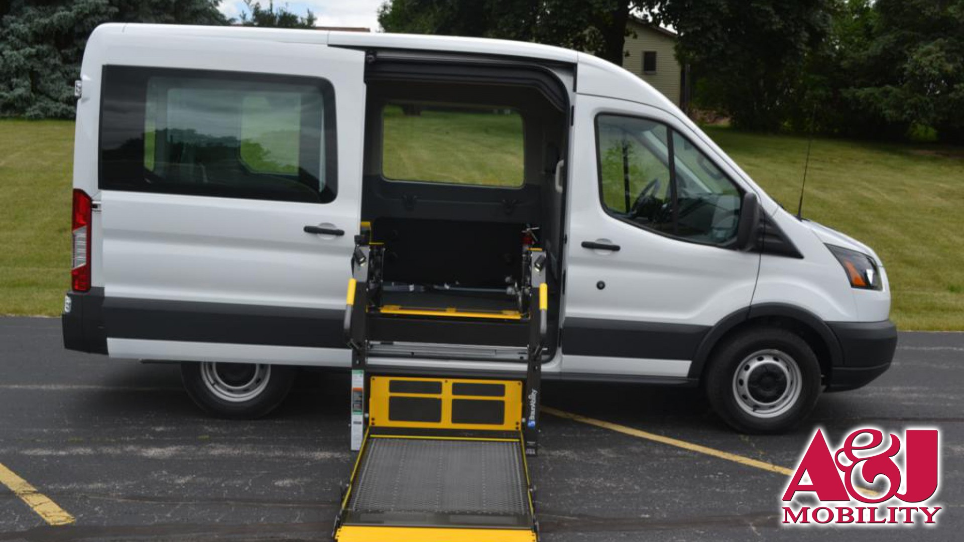 2018 Ford Transit Wagon Non Branded AJ Wheelchair Van For Sale
