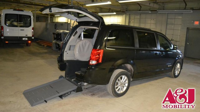 2013 Dodge Grand Caravan Vision Rear Entry Vision Rear Entry Manual Wheelchair Van For Sale