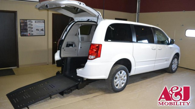 2017 Dodge Grand Caravan Commercial Vans Dodge ADA Rear Entry Wheelchair Van For Sale