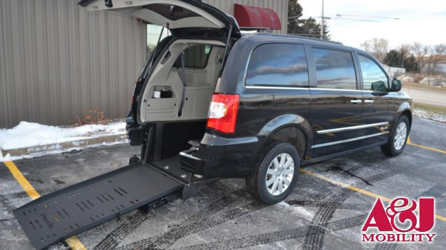 2015 Chrysler Town and Country Commercial Vans Chrysler ADA Rear Entry Wheelchair Van For Sale