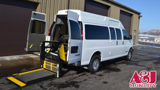 2010 CHEVROLET EXPRESS Non Branded Full Size Van Conversion Wheelchair Van For Sale