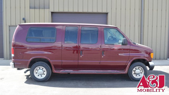 2005 Ford e-250 Non Branded Full Size Van Conversion Wheelchair Van For Sale