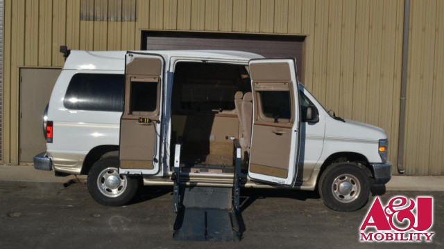 2010 Ford E-150 Non Branded Full Size Van Conversion Wheelchair Van For Sale
