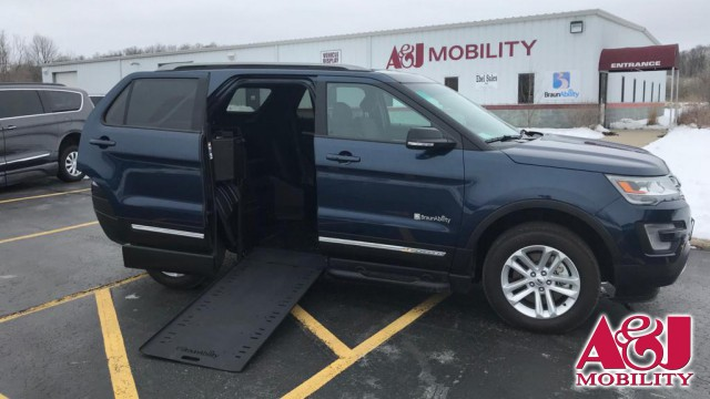 2017 Ford Explorer BraunAbility MXV Wheelchair SUV Wheelchair Van For Sale