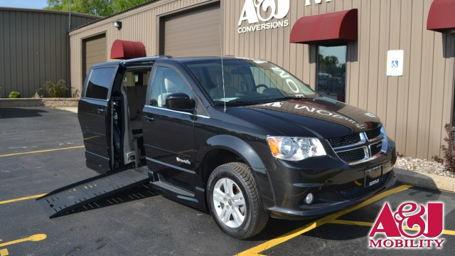 2017 Dodge Grand Caravan Commercial Vans Dodge ADA Entervan Wheelchair Van For Sale