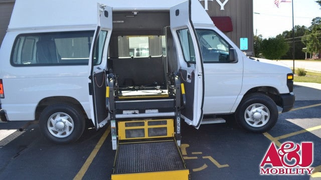 2014 Ford E-Series Van Transit Works Para Transit Wheelchair Van For Sale