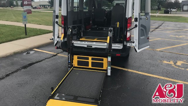 2018 Ford Transit Van Non Branded A&J Ford Transit Wheelchair Van For Sale