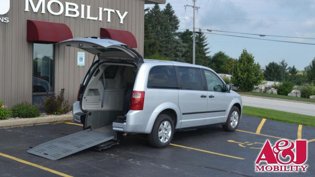 2008 Dodge Grand Caravan BraunAbility Dodge Manual Rear Entry Wheelchair Van For Sale