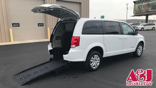 2013 Dodge Grand Caravan Commercial Vans Dodge ADA Rear Entry Wheelchair Van For Sale
