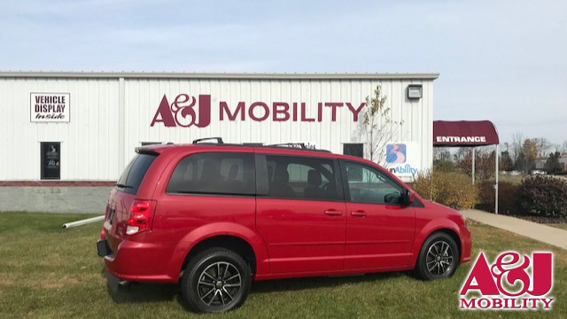 2016 Dodge Grand Caravan Freedom Motors Manual Dodge Rear Entry Wheelchair Van For Sale