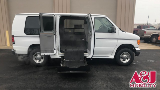 2007 Ford Econoline Cargo  Wheelchair Van For Sale