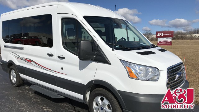 2018 Ford Transit Wagon Non Branded A&J Ford Transit Wheelchair Van For Sale