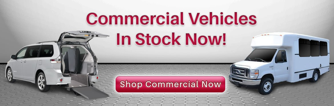 Commercial ADA Compliant Vehicles & Lifts