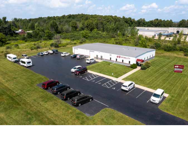 A&J Mobility's Facility in Richfield, WI
