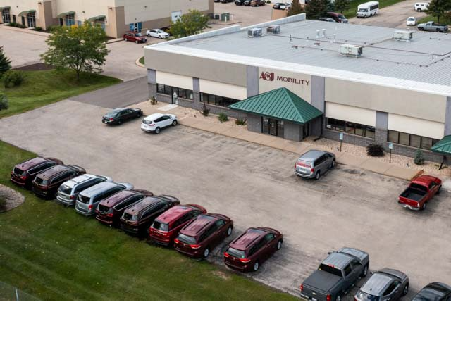 A&J Mobility's Facility in McFarland, WI