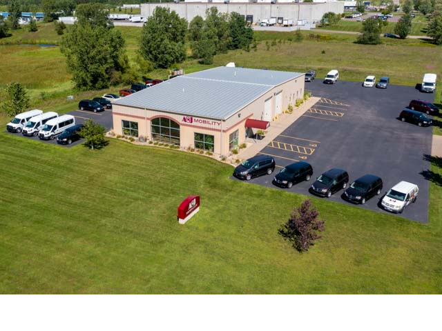 A&J Mobility's Facility in Eau Claire, WI