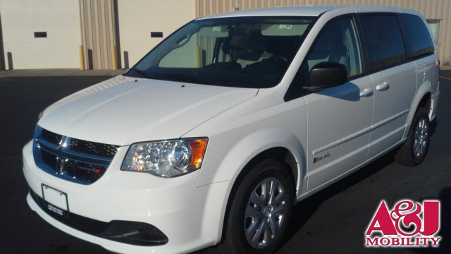 Used 2015 Dodge Grand Caravan.  ConversionCommercial Vans Dodge ADA Rear Entry
