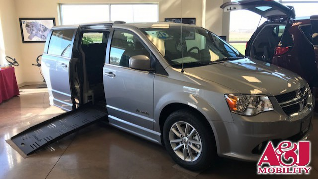 New 2018 Dodge Grand Caravan.  ConversionBraunAbility Dodge Entervan II