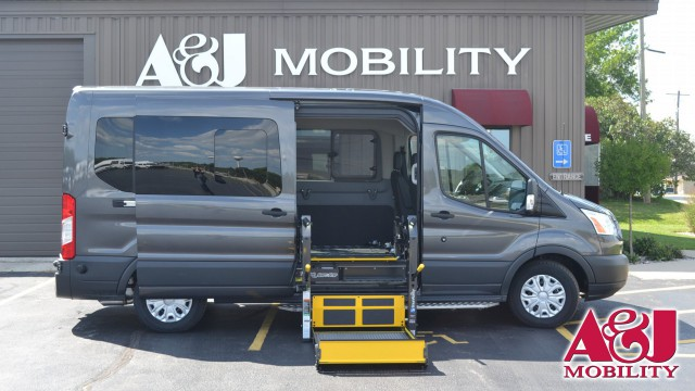 Used 2018 Ford Transit Wagon.  ConversionCommercial Vans AbiliTrax Modular Seating