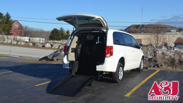 Used 2013 Dodge Grand Caravan.  ConversionFreedom Motors Manual Dodge Rear Entry