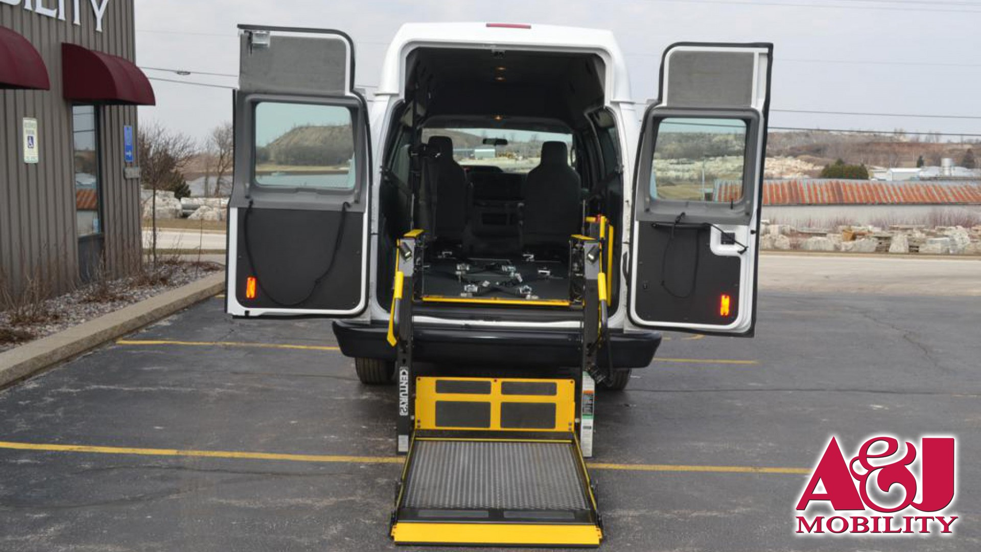 2013 Ford E-250 | Conversion: A&J Ford Transit