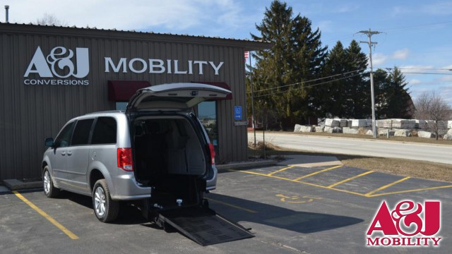 Used 2014 Dodge Grand Caravan.  ConversionCommercial Vans Dodge ADA Rear Entry