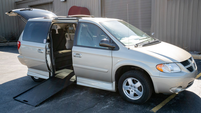 Used 2007 Dodge Grand Caravan.  ConversionRollx Vans Rollx In Floor Dodge