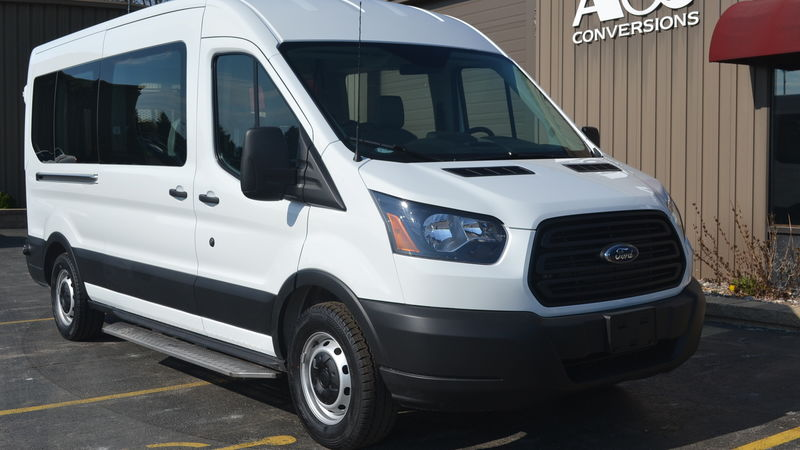 New 2019 Ford Transit.  ConversionCommercial Vans Ford Transit