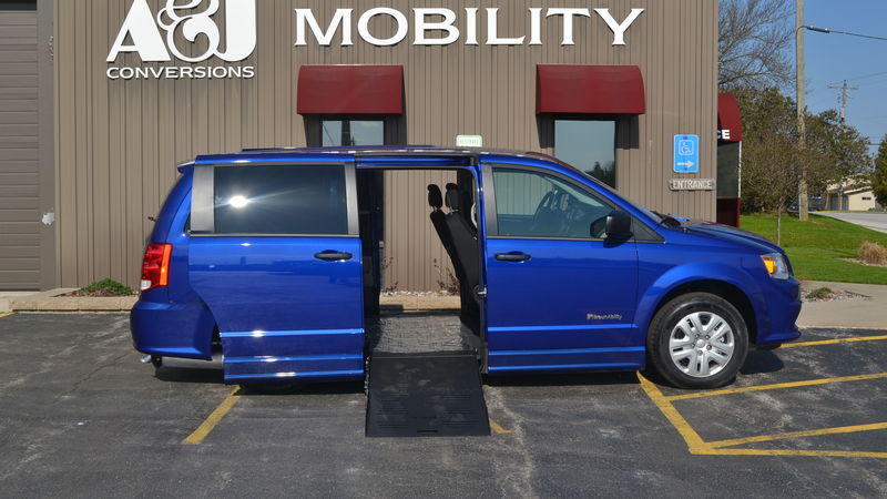 New 2019 Dodge Grand Caravan.  ConversionBraunAbility Dodge Entervan II