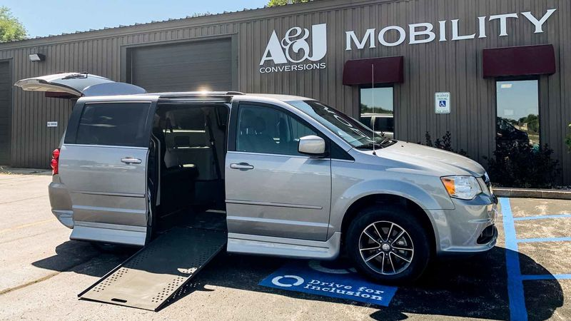 Used 2017 Dodge Grand Caravan.  ConversionRollx Vans Rollx In Floor Dodge