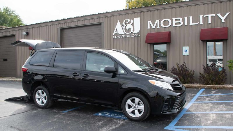 2019 Toyota Sienna Freedom Motors Manual Toyota Rear Entry wheelchair van for sale