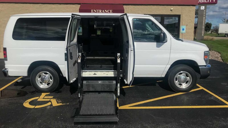 Used 2012 Ford E-Series Van.  ConversionNor-Cal Vans NCV Personal Mobility Transit