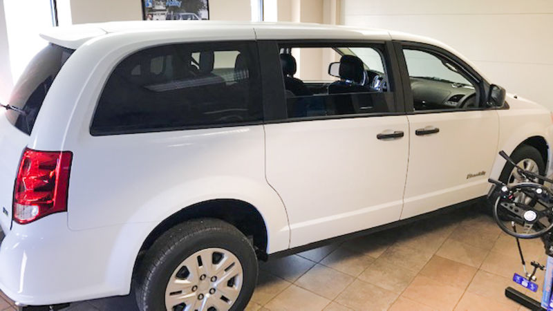 2019 Dodge Grand Caravan Commercial Vans Dodge ADA Rear Entry wheelchair van for sale