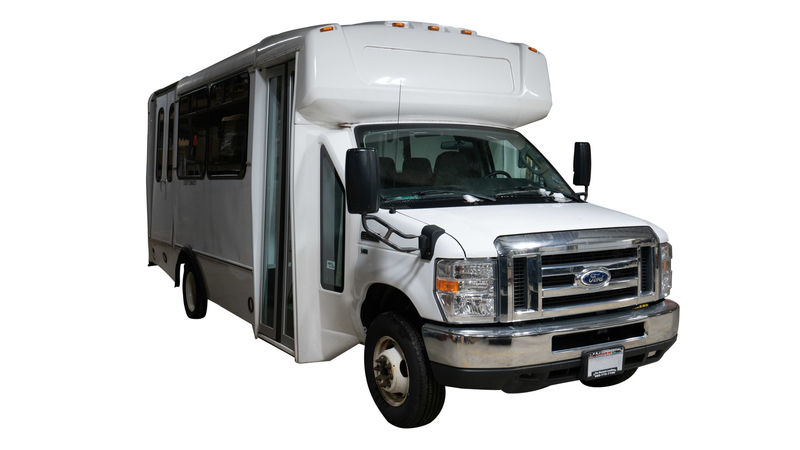 Used 2015 Ford E-350.  ConversionADA Wheelchair Accessible Bus